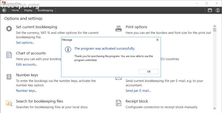Download SoftwareNetz Cash Book Serial key