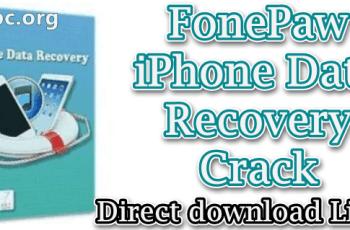 FonePaw iPhone Data Recovery Crack