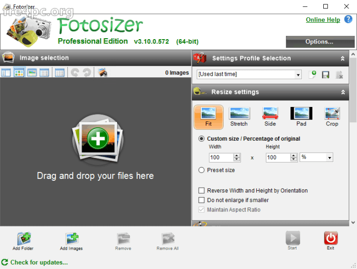 Fotosizer Professional Edition 3.10.0.572 Crack