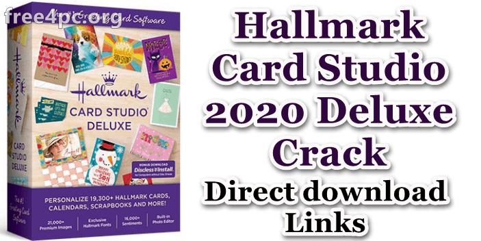 Hallmark Card Studio 2020 Deluxe Crack