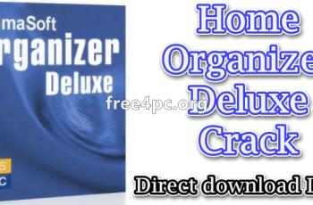 Home Organizer Deluxe Crack