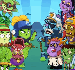 Merge Flowers vs Zombies v2.8 MOD APK