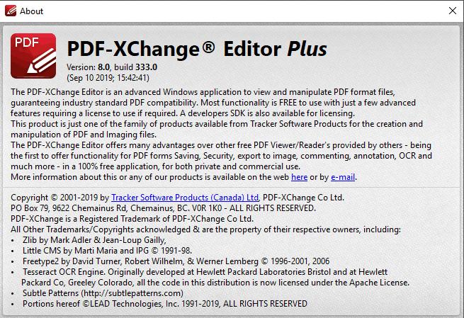 PDF-XChange Editor Plus Key