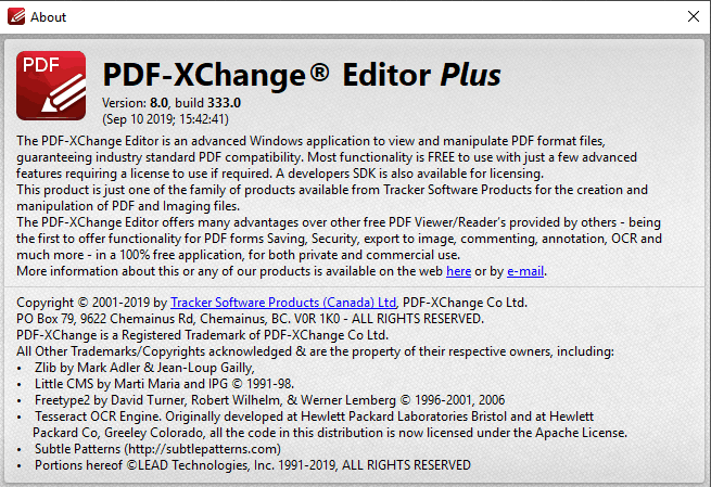 PDF-XChange Editor Plus Key