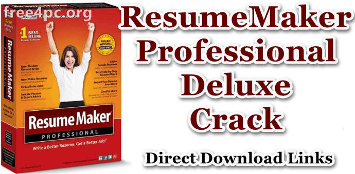 Resumemaker Professional Deluxe 20 1 1 166 With Crack Latest