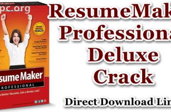 ResumeMaker Professional Deluxe Crack