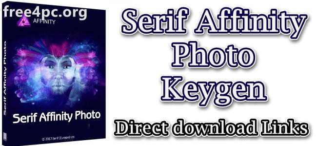 Serif Affinity Photo Keygen