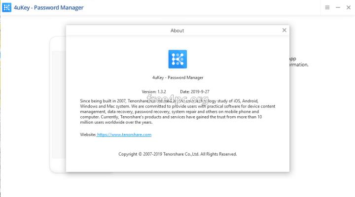 Tenorshare 4uKey Password Manager Crack