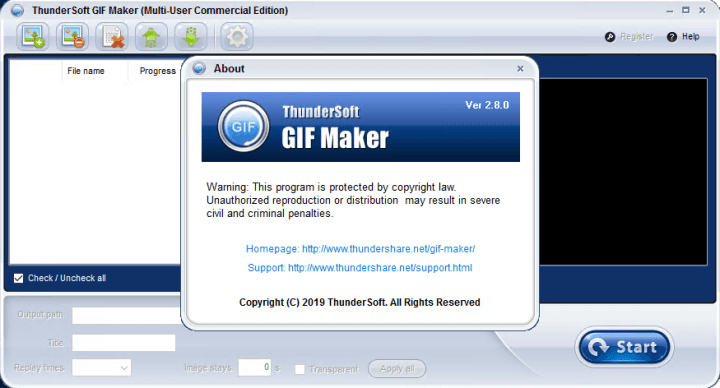 ThunderSoft GIF Maker Crack Free Download