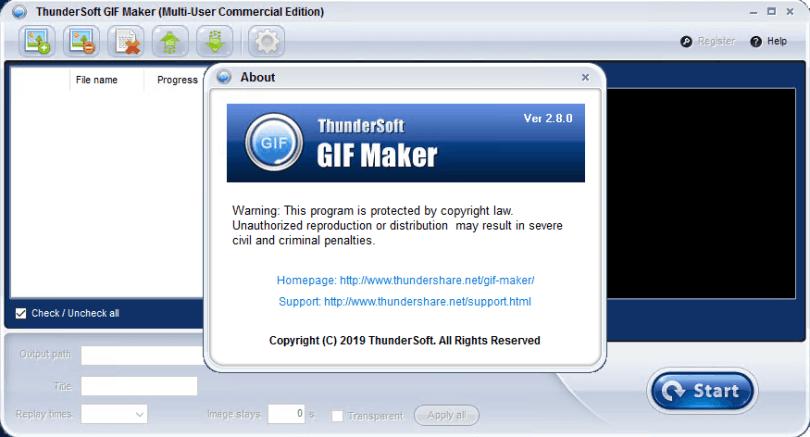 ThunderSoft GIF Maker Crack Free Download