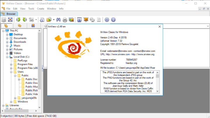 XnView Complete 2.49 Keygen