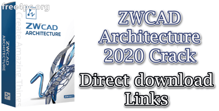 ZWCAD Architecture 2020 Crack
