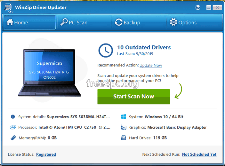 winzip driver updater Full version