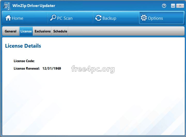 winzip driver updater license key 2019
