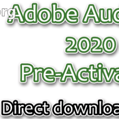 Adobe Audition 2020 Pre-Activated
