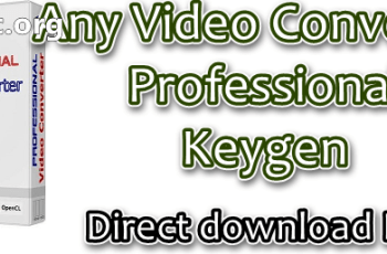 Any Video Converter Professional Keygen