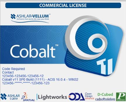 Ashlar-Vellum Cobalt Crack