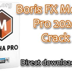 Boris FX Mocha Pro 2020 Crack