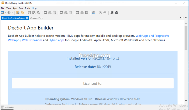 DecSoft App Builder 2020 Crack