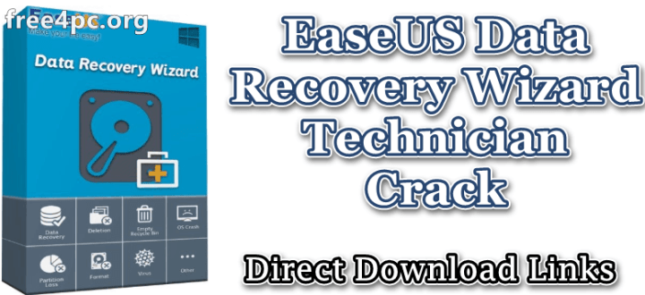 EaseUS Data Recovery Wizard Technician Crack