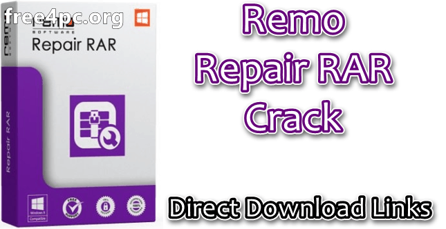 Remo Repair RAR Crack