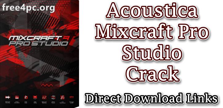 Acoustica Mixcraft Pro Studio Crack