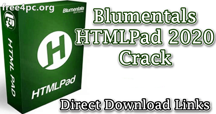 Blumentals HTMLPad 2020 Crack