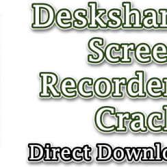 Deskshare My Screen Recorder Pro Crack