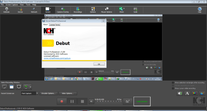 NCH Debut Video Capture Software Professional Full Version