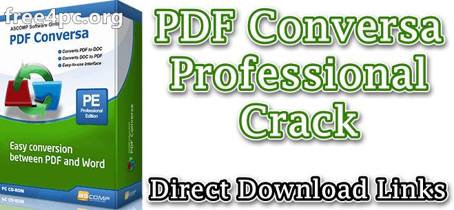 PDF Conversa Professional Crack