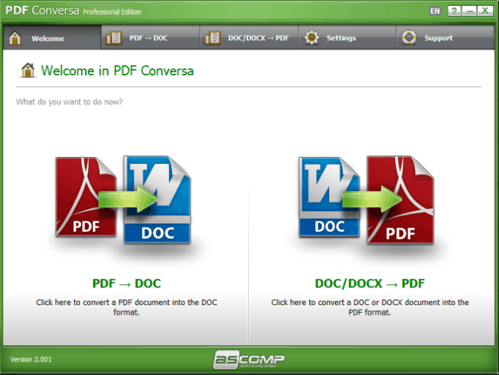 PDF Conversa Professional Serial key
