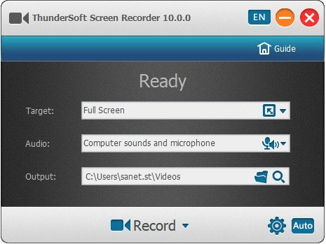 ThunderSoft Screen Recorder Pro Crack