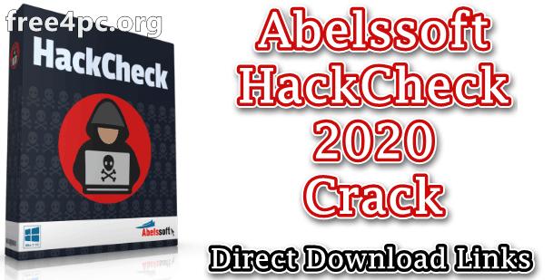 Abelssoft HackCheck 2020 Crack