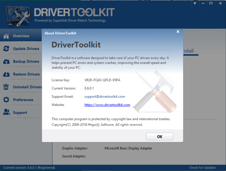 Driver Toolkit License Key 2020