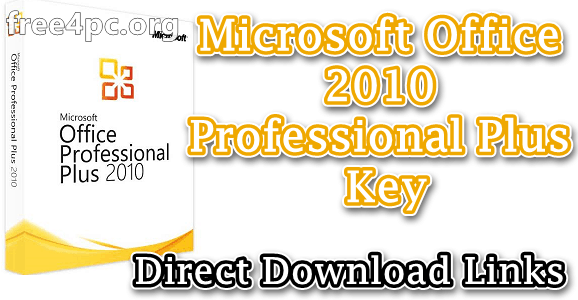 Microsoft Office 2010 Professional Plus key