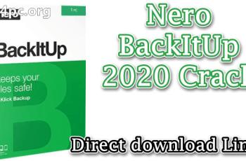 Nero BackItUp 2020 Crack