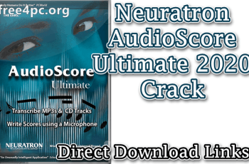 Neuratron AudioScore Ultimate 2020 Crack