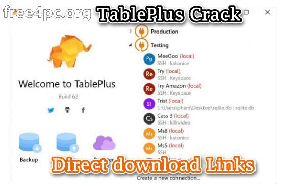 TablePlus Crack