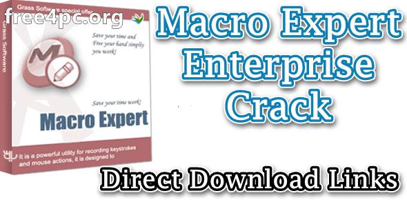 Macro Expert Enterprise Crack