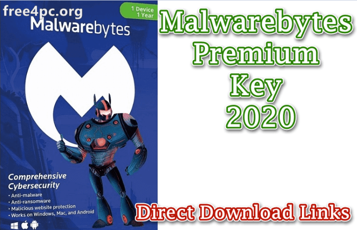 Malwarebytes Premium Key 2020