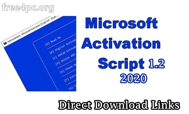 Microsoft Activation Scripts 1.2