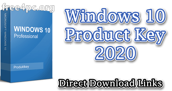 Windows 10 Product Key 2020