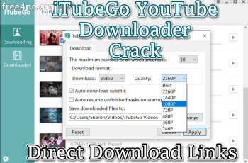 iTubeGo YouTube Downloader Crack