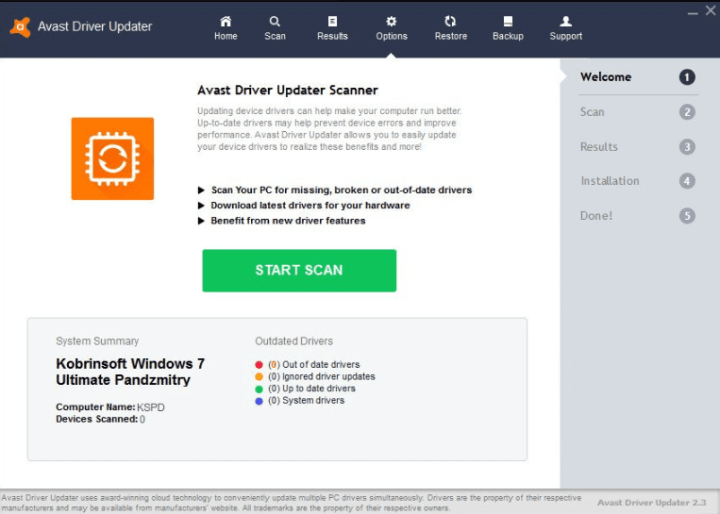 Avast Driver Updater 2.5.6 Key
