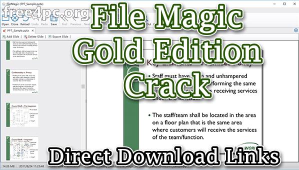 File Magic Gold Edition Crack