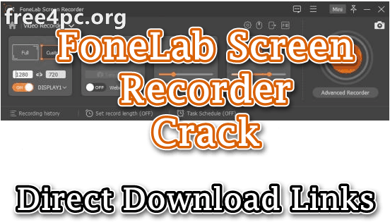 FoneLab Screen Recorder Crack