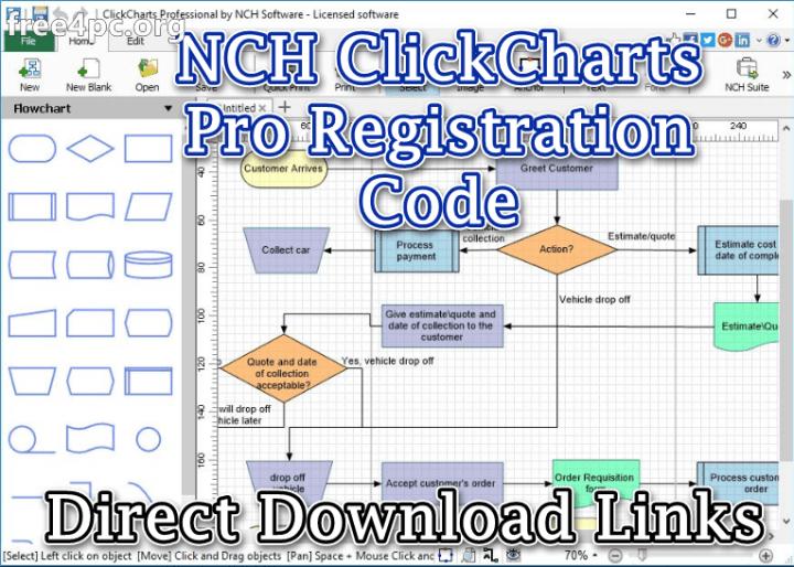 NCH ClickCharts Pro Registration Code