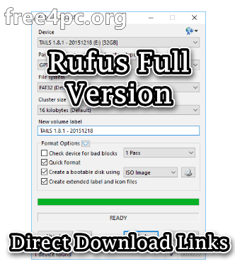 Rufus Full Version
