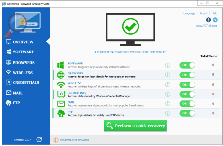 Advanced Password Recovery Suite Crack