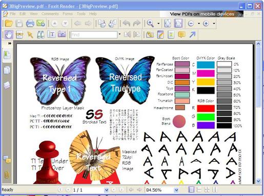 開PDF檔的軟體 Foxit Reader